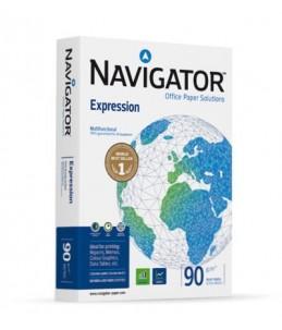 Navigator Expression - Papier blanc - A4 (210 x 297 mm) - 90 g m² - 2500 feuilles (carton de 5 ramettes)