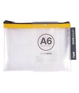 ZIPPER BAG A6 - APLI