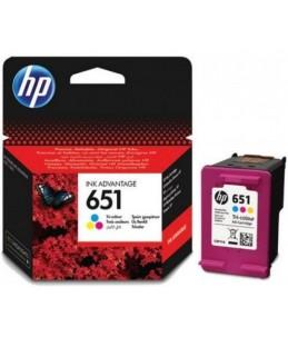 Cartouche HP 651 Tri-color Originale Ink Advantage