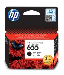 Cartouche HP 655 Noir