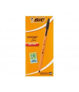 BIC ORANGE FINE BLACK X 60