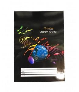 Cahier de Musique A4 - CAMPAP