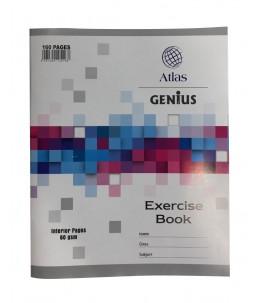 Cahier ligné de 160 pages - Atlas