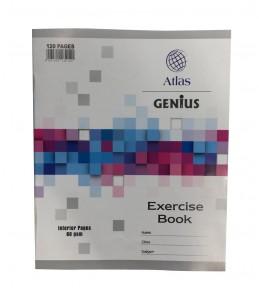 Cahier ligné de 120 pages - Atlas