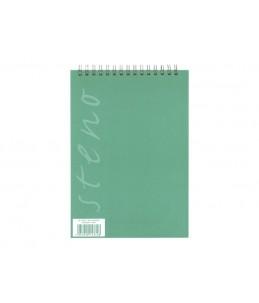 Calligraphe Steno - Bloc-notes - reliure à anneaux métalliques - A5 - 180 pages blanches