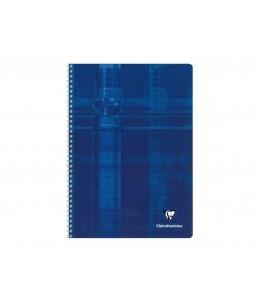 Clairefontaine - Cahier spirale - A4 - 100 pages - Petits carreaux - disponible dans différentes couleurs