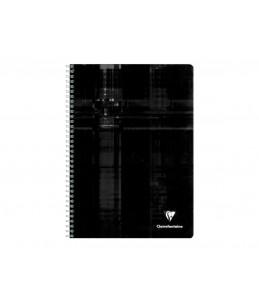 Clairefontaine - Cahier spirale - A4 - 180 pages - Petits carreaux - disponible dans différentes couleurs