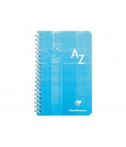 Clairefontaine - Répertoire - 11 x 17 cm - 100 pages - quadrillé - 5x5 - disponible dans différentes couleurs