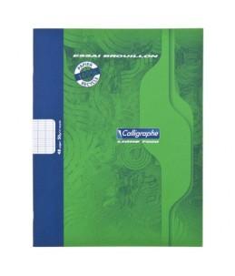 Calligraphe7000 - Cahier de brouillon - 17 x 22 cm - 48 pages - grands carreaux