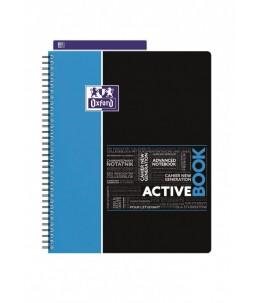 Oxford Student Activebook A4+ - Cahier - 160 pages - Petits carreaux - disponible dans différentes couleurs