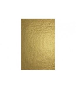 Clairefontaine - Papier cadeau - 4 feuilles de papier de soie - 50 cm x 70 cm - 18 g/m² - or métalisé