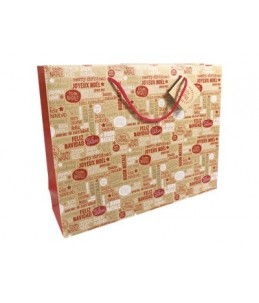 Clairefontaine Kraft Cosy in Red - sac cadeau