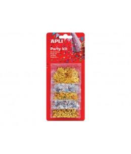 Apli Party - confettis - 10 gr - étoiles