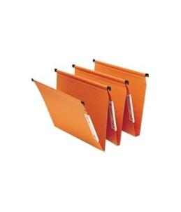 Fast Standard - 25 Dossiers suspendus - pour armoire - base- V - orange