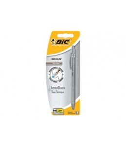 BIC Critérium Silver - Crayon porte mines - HB - 2 mm