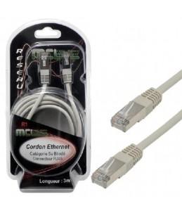 MCL Samar câble réseau - 3 m - gris