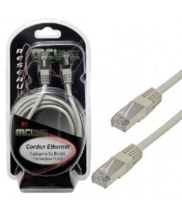 MCL Samar - Câble de réseau - RJ-45 (M) pour RJ-45 (M) - paire torsadée écrantée (F UTP) - CAT 5e - 5 m