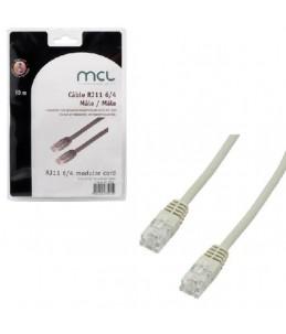 MCL Samar câble de téléphone - 2 m - ivoire