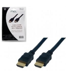 MCL Samar HDMI avec câble Ethernet - 3 m