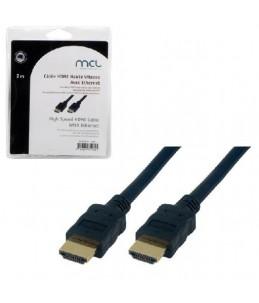 MCL Samar MC385Z - HDMI avec câble Ethernet - 2 m