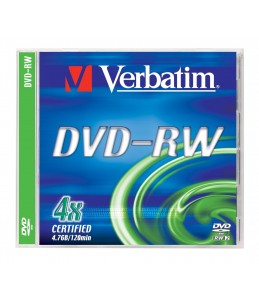 Verbatim DataLifePlus - DVD-RW x 5 - 4.7 Go - support de stockage