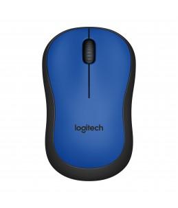 Logitech M220 Silent - souris - 2.4 GHz - bleu