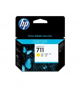 HP 711 - jaune - cartouche d'encre originale