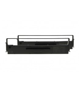 Cartouche Ruban noir LQ-350 300 + II 570 580 8xx - Epson