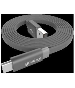 Câble plat USB-C green_e