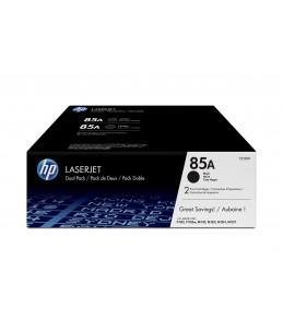 HP 85A Dual Pack - Black Print Cartridge P11x2 M12